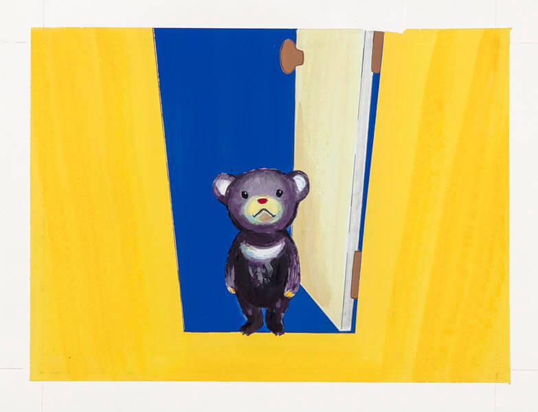 「みみをすますように 酒井駒子」展 横須賀美術館-2