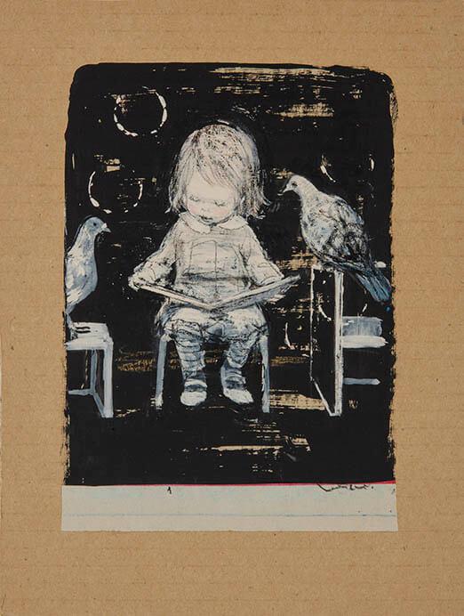 「みみをすますように 酒井駒子」展 横須賀美術館-3
