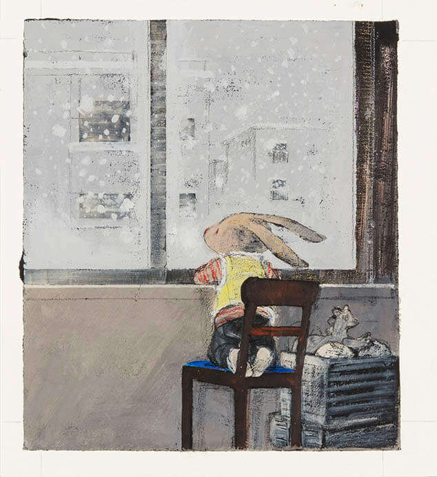「みみをすますように 酒井駒子」展 横須賀美術館-4