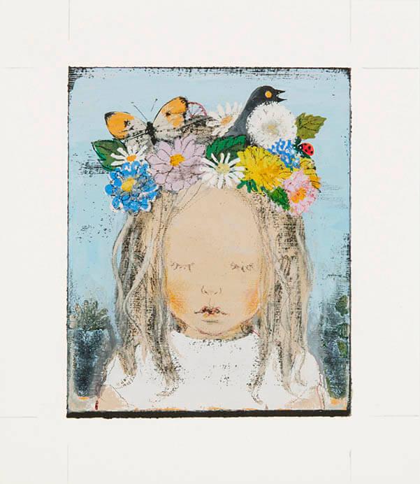 「みみをすますように 酒井駒子」展 横須賀美術館-5