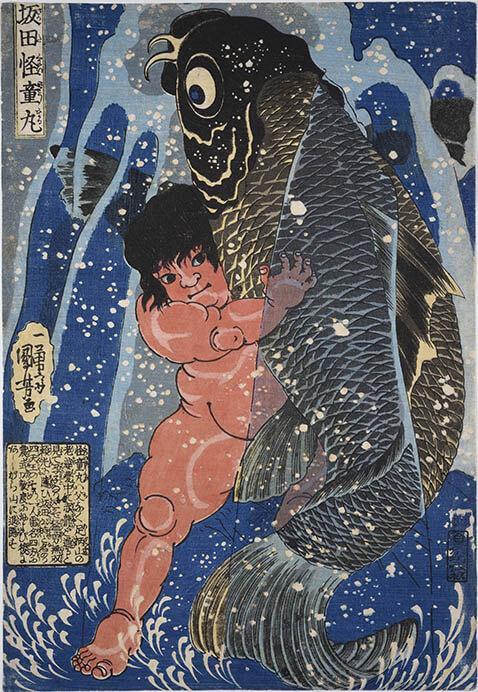くもんの子ども浮世絵コレクション 遊べる浮世絵展 横須賀美術館-1