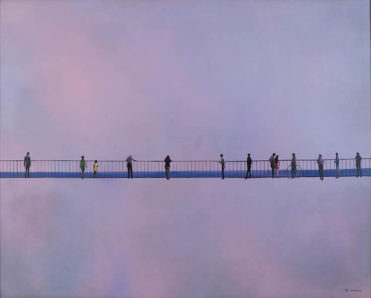 生誕110年記念 糸園和三郎展 ~魂の祈り、沈黙のメッセージ~ 大分県立美術館(OPAM)-1