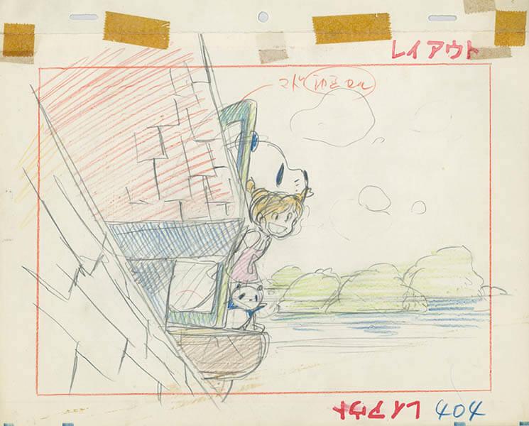 高畑勲展 日本のアニメーションに遺したもの 福岡市美術館-3