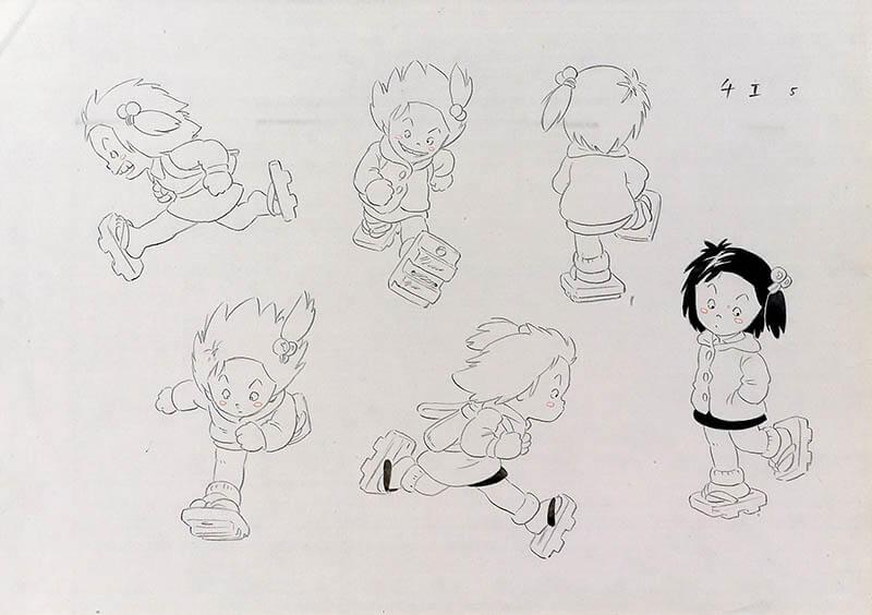 高畑勲展 日本のアニメーションに遺したもの 福岡市美術館-9