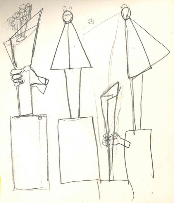 没後40年記念 本郷新・全部展③ 彫刻の設計図 本郷新記念札幌彫刻美術館-4