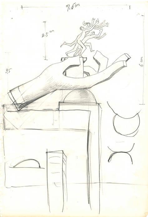 没後40年記念 本郷新・全部展③ 彫刻の設計図 本郷新記念札幌彫刻美術館-6