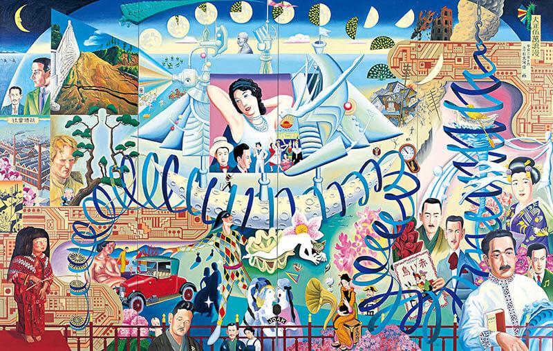 大・タイガー立石展 世界を描きつくせ! 埼玉県立近代美術館-19