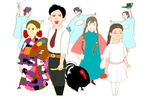 AM倉敷(Artist Meets Kurashiki) vol. 13 井上涼のとらとらまごまご展 大原美術館-1