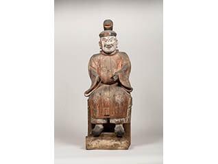 小企画展「御前神社の神像と歴史」