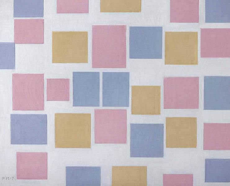 モンドリアン展 純粋な絵画をもとめて 豊田市美術館-9