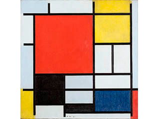モンドリアン展 純粋な絵画をもとめて