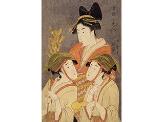 黄金期の浮世絵 歌麿とその時代展-美人画と役者絵