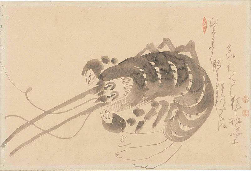 京(みやこ)のファンタジスタ ~若冲と同時代の画家たち 嵯峨嵐山文華館-3