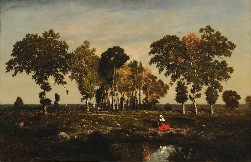 ランス美術館コレクション 風景画のはじまり コローから印象派へ 宮城県美術館-2