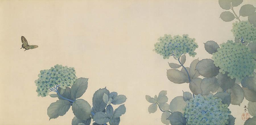 足立美術館展 横山大観と近代日本画の名手たち 岩手県立美術館-1