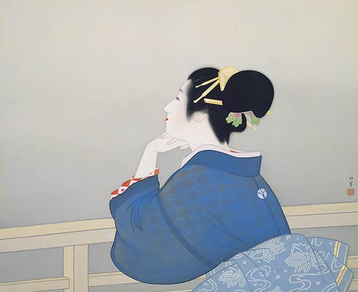 足立美術館展 横山大観と近代日本画の名手たち 岩手県立美術館-5