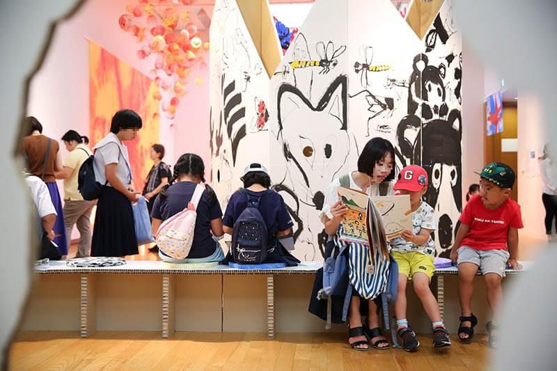NTT西日本スペシャル おいでよ!絵本ミュージアム2021 福岡アジア美術館-2
