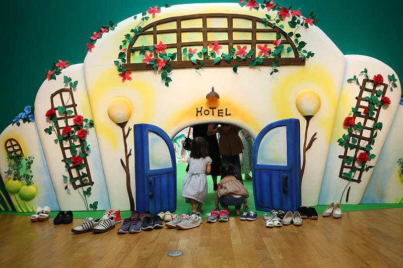 NTT西日本スペシャル おいでよ!絵本ミュージアム2021 福岡アジア美術館-3