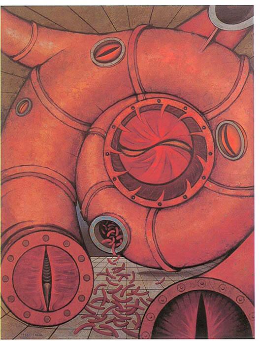 なつやすみの美術館11 野田裕示「集まる庭」 和歌山県立近代美術館-6