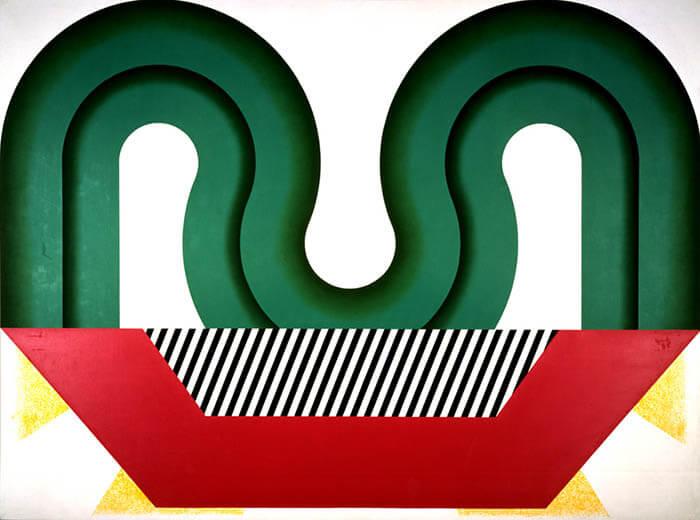 なつやすみの美術館11 野田裕示「集まる庭」 和歌山県立近代美術館-9