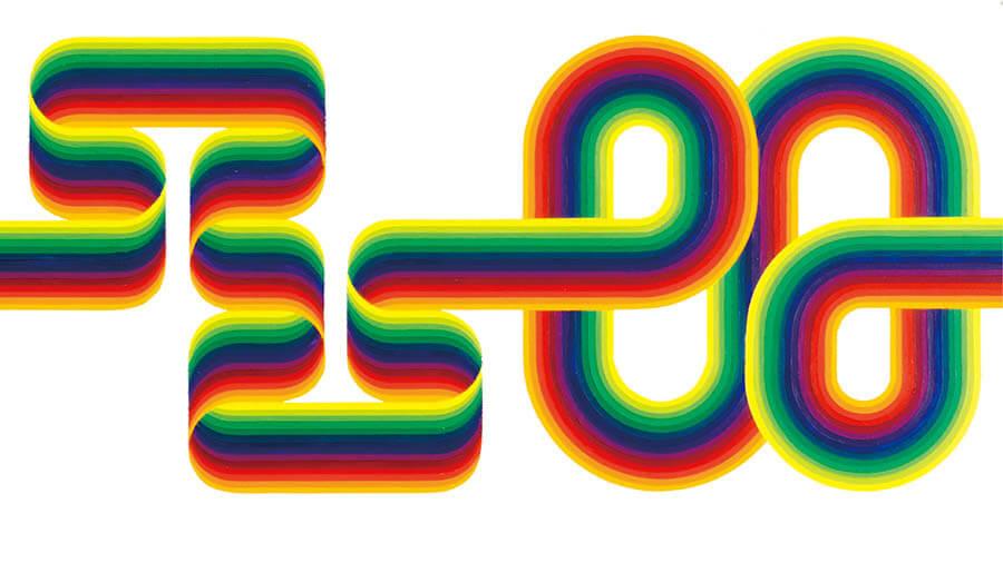 「ル・パルクの色 遊びと企て」ジュリオ・ル・パルク展 銀座メゾンエルメス フォーラム-1