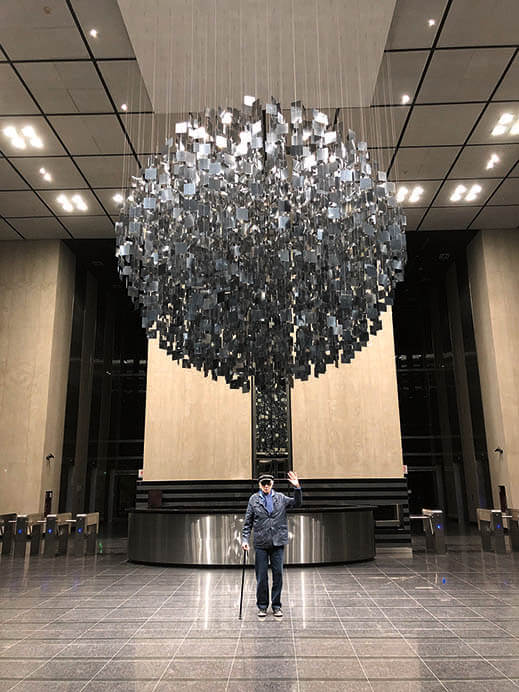 「ル・パルクの色 遊びと企て」ジュリオ・ル・パルク展 銀座メゾンエルメス フォーラム-3