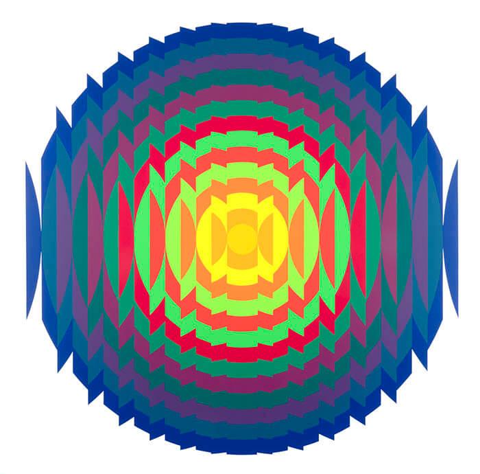 「ル・パルクの色 遊びと企て」ジュリオ・ル・パルク展 銀座メゾンエルメス フォーラム-4