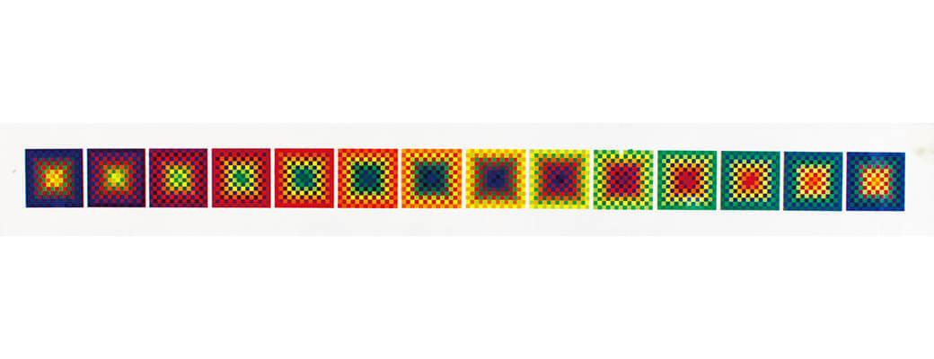 「ル・パルクの色 遊びと企て」ジュリオ・ル・パルク展 銀座メゾンエルメス フォーラム-5