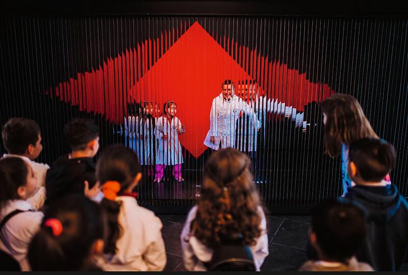 「ル・パルクの色 遊びと企て」ジュリオ・ル・パルク展 銀座メゾンエルメス フォーラム-6