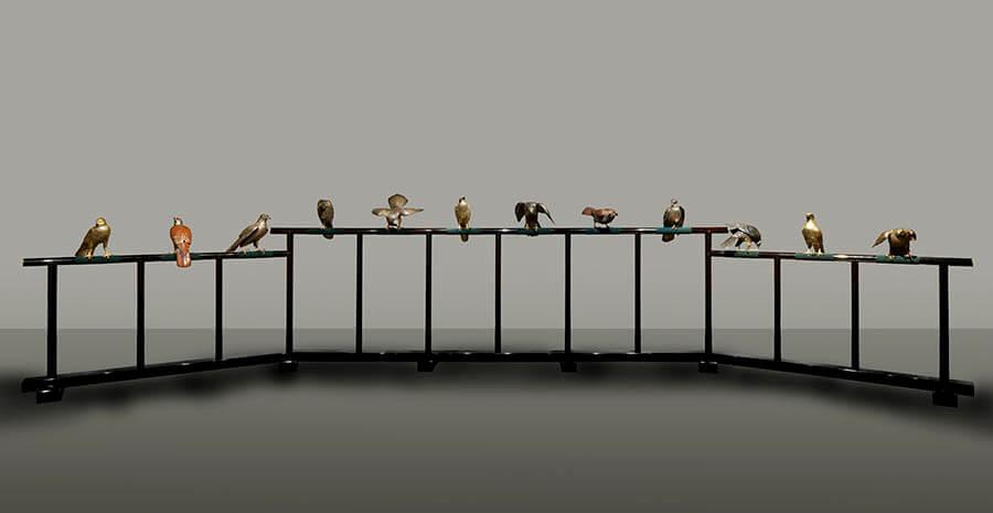 国立工芸館石川移転開館1周年記念展 《十二の鷹》と明治の工芸 国立工芸館-1
