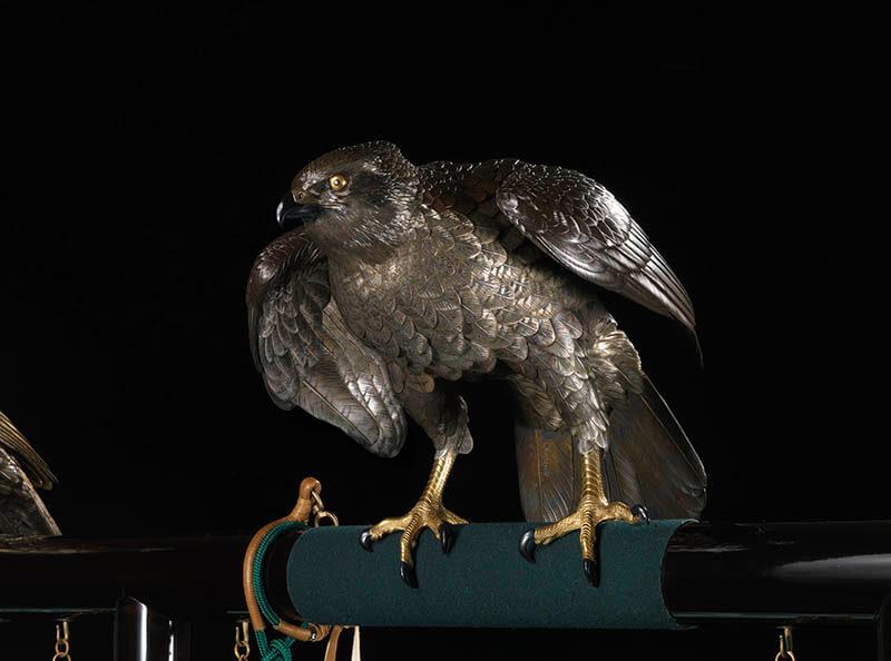 国立工芸館石川移転開館1周年記念展 《十二の鷹》と明治の工芸 国立工芸館-7