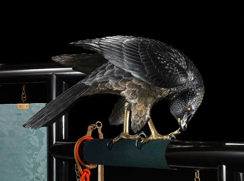 国立工芸館石川移転開館1周年記念展 《十二の鷹》と明治の工芸 国立工芸館-8