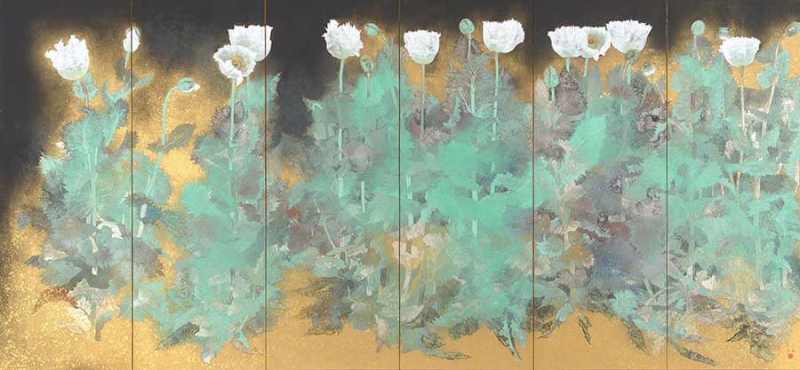 現代日本画名品選Ⅳ 華やぐ日本画 足立美術館-2