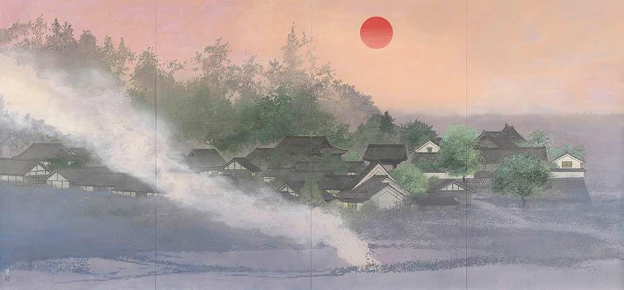 現代日本画名品選Ⅳ 華やぐ日本画 足立美術館-3