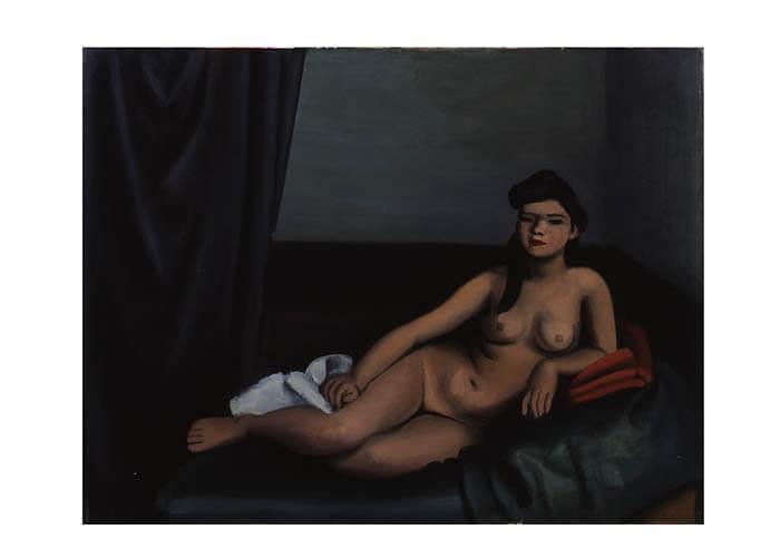 日本洋画コレクションを核に 絵がつづる人間模様 特集展示―彫刻家のデッサン BBプラザ美術館-2