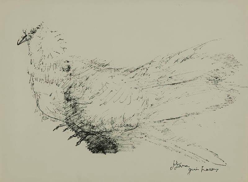 日本洋画コレクションを核に 絵がつづる人間模様 特集展示―彫刻家のデッサン BBプラザ美術館-8