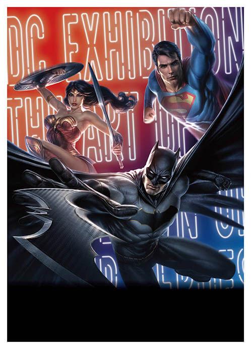 DC展 スーパーヒーローの誕生 福岡市博物館-1