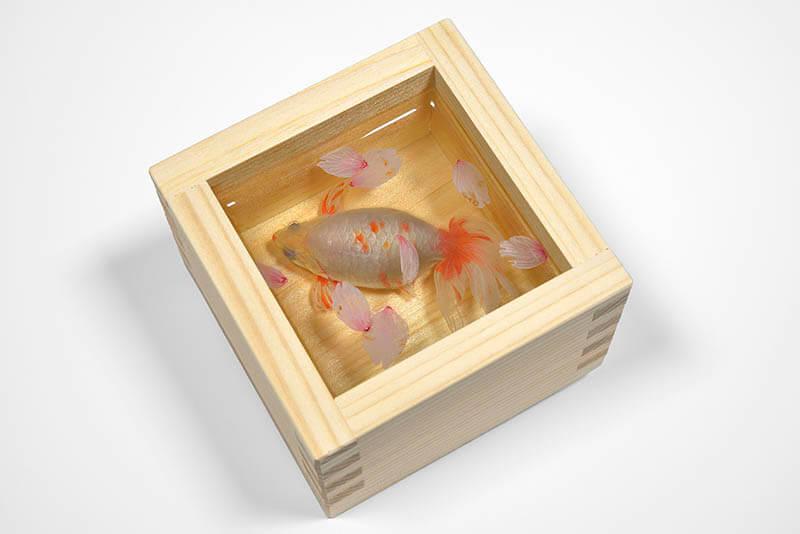 深堀隆介展「金魚鉢、地球鉢。」 上野の森美術館-3