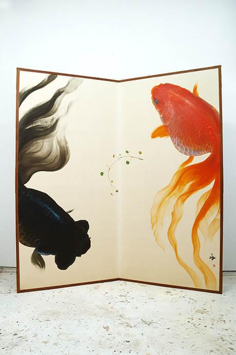 深堀隆介展「金魚鉢、地球鉢。」 上野の森美術館-5