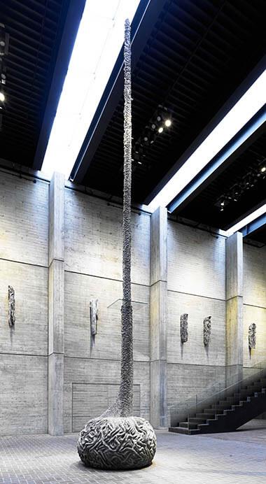戸谷成雄 森―湖:再生と記憶 市原湖畔美術館-4