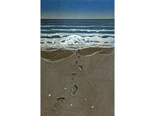 清須ゆかりの作家 鈴木田俊二 抽象、そして砂の画家へ
