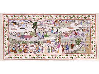 コレクション展 バングラデシュ独立50周年記念  「わが黄金のベンガルよ」