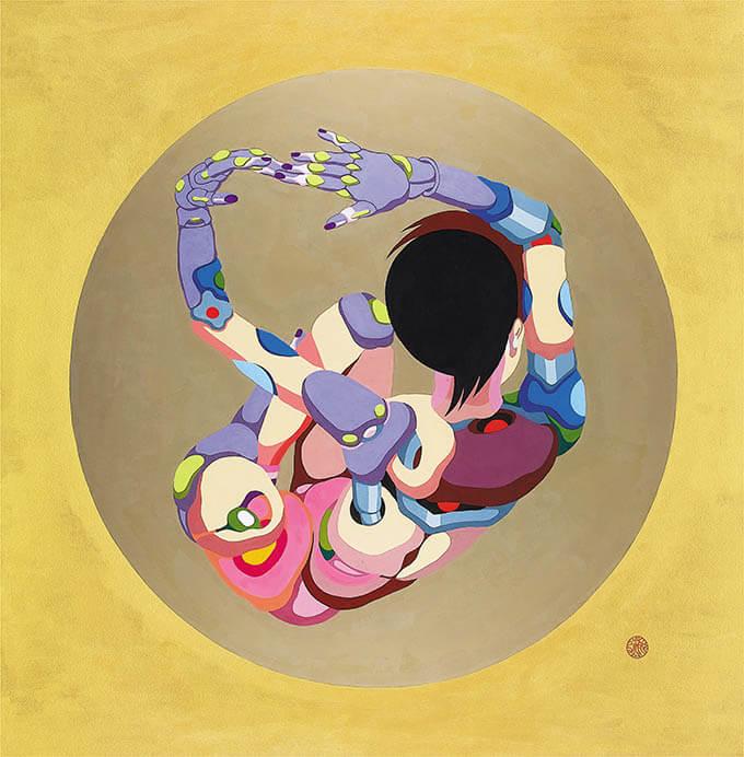 藤井フミヤ展 デジタルとアナログで創造する 多様な想像新世界 The Diversity 福岡アジア美術館-6