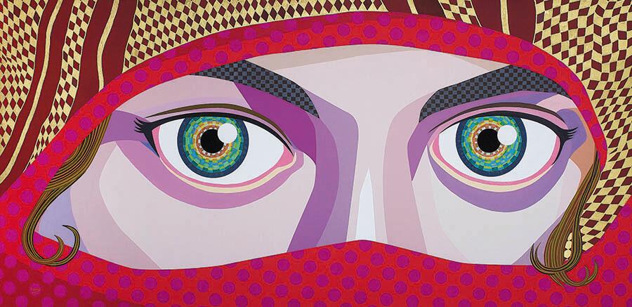 藤井フミヤ展 デジタルとアナログで創造する 多様な想像新世界 The Diversity 福岡アジア美術館-7
