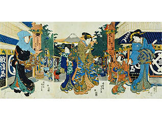 第3展示室(近世)特集展示「もの」からみる近世『江戸のビスタ』