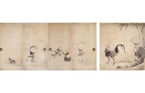 臨済禅師1150年・白隠禅師250年遠諱記念 特別展「禅ー心をかたちにー」 東京国立博物館-16